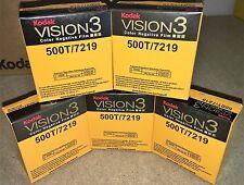 5 Rollos Kodak V3 Super película negativa de color 8mm 500T 7219 Distribuidor Oficial