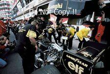 Ayrton Senna JPS Lotus 98T San Marino Grand Prix 1986 Photograph