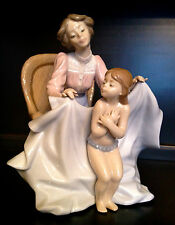 """Very Adorable Lladro """"Mommy It's Cold"""" Mother & Child (5715 Mint in Box )"""