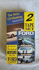 The Story of Mustang and Ford Legends 2 tape VHS box set.