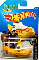 Hot wheels 2016 First Edition The Beatles Yellow Submarine HW Screen Time