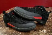 best authentic 23d87 f53af Air Jordan 12 XII Low Max Orange Mens sz 11 Retro Basketball Shoes Black  2016