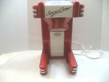 Nostalgia Retro Series Single Snow Cone Maker Red Model # RSM702 NIB