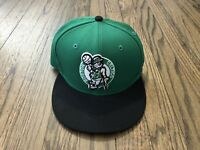 Vintage Boston Celtics NBA Basketball Green Snapback Hat
