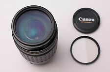 Canon Zoom Lens EF 75-300mm f/4-5.6 Telephoto for Canon EF Filter & Caps (#1869)