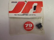 JR - FM TRANSMITTER CRYSTAL - CHANNEL 79 - 75.770 MHz - GROUND - MODEL# JRPXFT