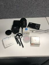 Camera bag containing Minolta 5000i accessories  (Our ref Photo5)