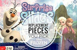 Frozen Surprise Slides Replacement Pieces Disney Game - You Pick Pieces