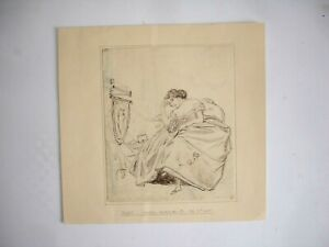 19th century ink & pencil drawing Yonkers Westchester Co 1857
