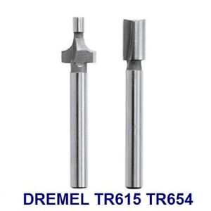 Dremel Trio Carbide Tip Router tr622 Shank 0.5cm 4.8mm round nose