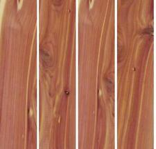 "3/4"" x 2"" x 12"" RED CEDAR Wood Lumber Boards Pack of 4 or 8 AROMATIC"