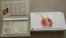 New Zealand - 1989  Proof Coin set featuring Silver One Dollar coin ...... (HJ1)