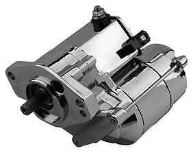 Twin Power Chrome 1.4kw Electric Starter Motor Harley Softail Springer 1989-2006