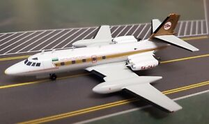 InFlight200 L-1329 JetStar 8 Libyan Arab Airlines 5A-DAJ with stand