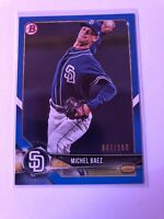 Michel Baez 2018 Bowman Chrome Draft Blue Refractor 47/150 #BDC130 Padres