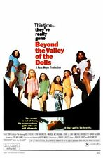 """New listing Beyond The Valley Of The Dolls Movie Poster Mini 11""""X17"""""""