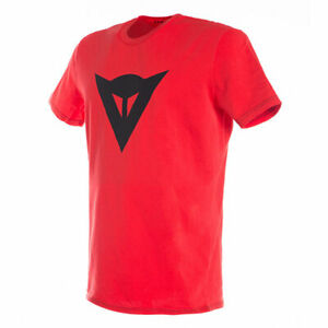 Dainese Speed Demon Fashionable Casual Wear T-Shirt Red / Black