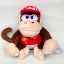 "Diddy Kong Plush Super Mario Donkey Kong Country Didi Kongu Soft Animal Toy 7"""
