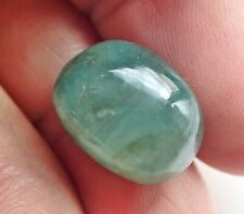 12.40 Ct. AAA Mineral 100% Natural Green Emerald Tumble Loose Gemstone Cabochon