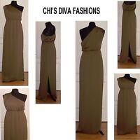 ASOS One Shoulder Drape Maxi Dress Sizes 10, 12, 14, 16, 18 (See Details Pls.)