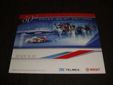 2012 GANASSI RACING #01 TELMEX 50th ROLEX 24 AT DAYTONA GRAND AM POSTCARD