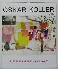 Oskar Koller Kalender - LEBENSRÄUME 2013