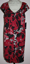 NWT Womens Anne Klein Multi-Color Dress Plus Size 14 W
