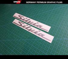 2 Pics Silvia S15 S14 S13 CAR Decal vinyl Sticker