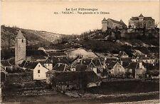 CPA   Le Lot Pittoresque - Vaillac - Vue générale et le Cháteau   (353864)