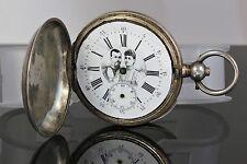 Antique Russian Silver Imperial Award Pocket Watch Tsar Nicholas II and Empress