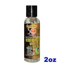 30 SEC OLIVE OIL  WEAVE WONDER WRAP LONGER STRONGER HEALTHIER HAIR 2oz CLEAR