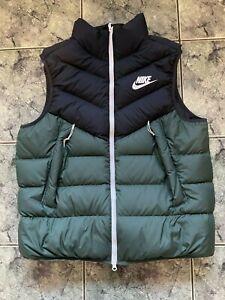 Nike Sportswear Down Fill Puffer Jacket Bodywarmer Men's XL VGC