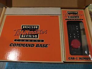 Lionel TRAINmaster Command Set (6-12969) CAB-1 Remote & Command Base-NEW IN BOX