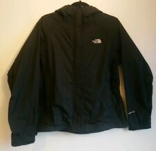 Ladies The North Face Black Hyvent DT Jacket Size Medium M UK 10 12 Hooded Coat