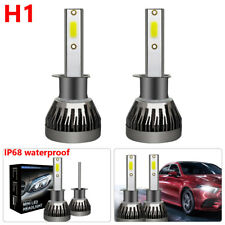 H1 LED Headlight Conversion Kit 1500W Bulbs White 6000K HID IP68 Waterproof