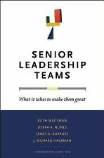 Senior Leadership Teams What It Takes to Make Them Great Harvard Business Review