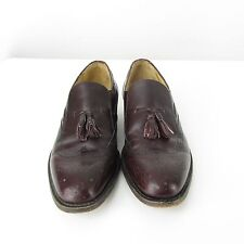 HANOVER Masterflex Cordovan Leather Tassel Wingtip Loafer Shoe Men 9 A / AAA