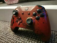Xbox One Gears Of War 4 Crimson Wireless Controller GOW