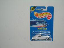 HOT WHEEL 1990 BLUE(speed point) CARD TALBOT LAGO COLL #22 MOC