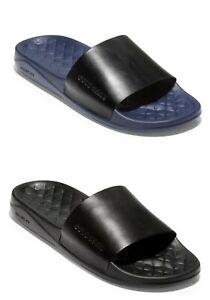 Men Cole Haan Grandpro Slides Sandals leather