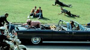 PRESIDENT JFK JOHN & JACKIE KENNEDY DALLAS MOTORCADE ASSASSINATION 8.5 X11 PHOTO