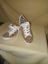 Coach Empire Canvas Tennis Shoes Women Size 61/2 M