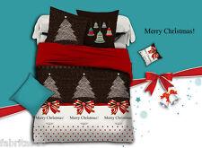 Merry Christmas Super King Size Bed Duvet/Doona/Quilt Cover Set New