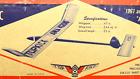 "Jetco ""TOP KICK"", Vintage Free Flight Kit, W/S 4t"", Nordic A-1"