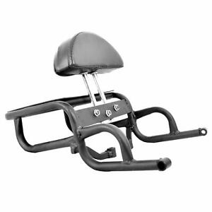 New Adjustable Cushion Support Pillion Backrest Bar for Royal Enfield Himalayan.