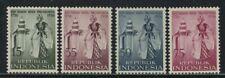 Indonesia 1956 City of Jogjakarta Founding set Sc# 432-35 NH