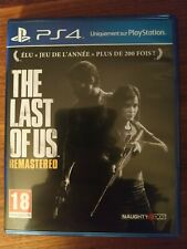 The Last Of Us Remastered PS4- comme neuf