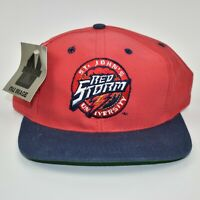 St. Johns Red Storm NCAA Vintage 90's Nu Image Adjustable Snapback Cap Hat - NWT