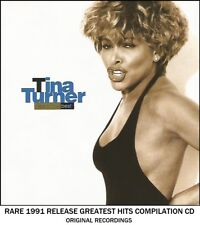 Tina Turner - Very Best Greatest Hits Collection - RARE 1991 CD - 80's Rock Pop