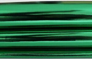 METALLIC EMERALD GREEN Italian Lambskin leather hide skin pelt skins 7sqf